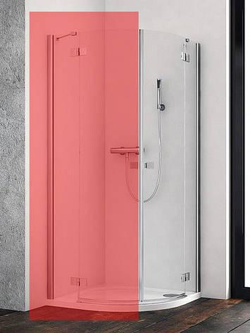 Права частина душової кабіни Radaway Essenza New PDD 90 (385001-01-01R), фото 2