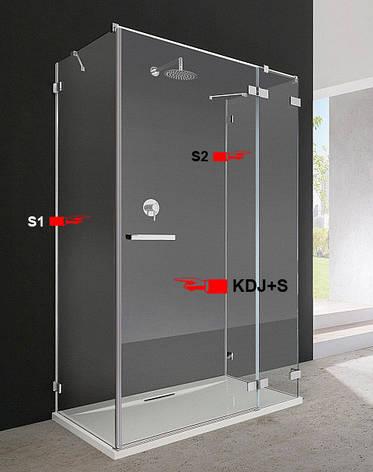 Двері для душової кабіни Radaway Euphoria KDJ+S 80 праві (383021-01R), фото 2