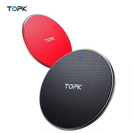 Беспроводное зарядное устройство Topk Wireless Charger B01W, фото 2