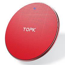 Беспроводное зарядное устройство Topk Wireless Charger B01W, фото 3