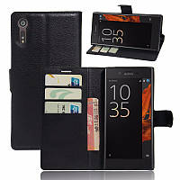 Чехол-книжка Litchie Wallet для Sony Xperia XZ F8331 / F8332 Черный