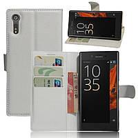 Чехол-книжка Litchie Wallet для Sony Xperia XZ F8331 / F8332 Белый