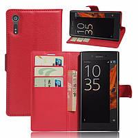 Чехол-книжка Litchie Wallet для Sony Xperia XZ F8331 / F8332 Красный