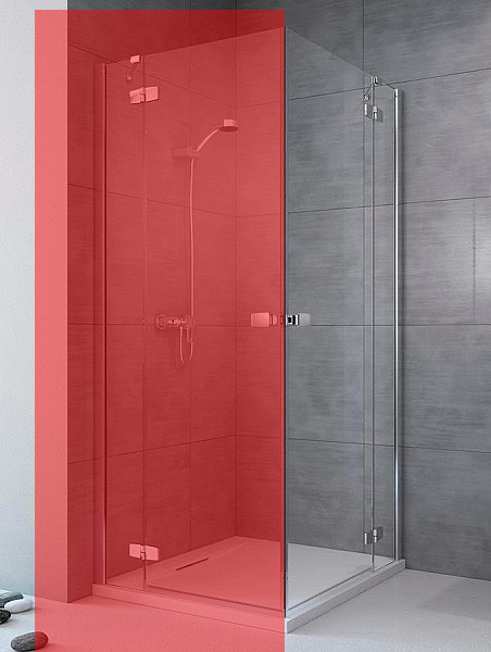 Права частина душової кабіни Radaway Fuenta New KDD 100 (384062-01-01R)