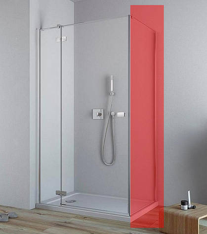 Двері для душової кабіни Radaway Fuenta New KDJ 100 ліві (384040-01-01L), фото 2