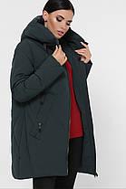 Размер 56 Зимний модный пуховик больших размеров, фото 3
