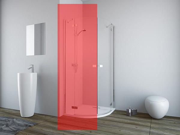 Права частина душової кабіни Radaway Fuenta New PDD 80 (384002-01-01R)