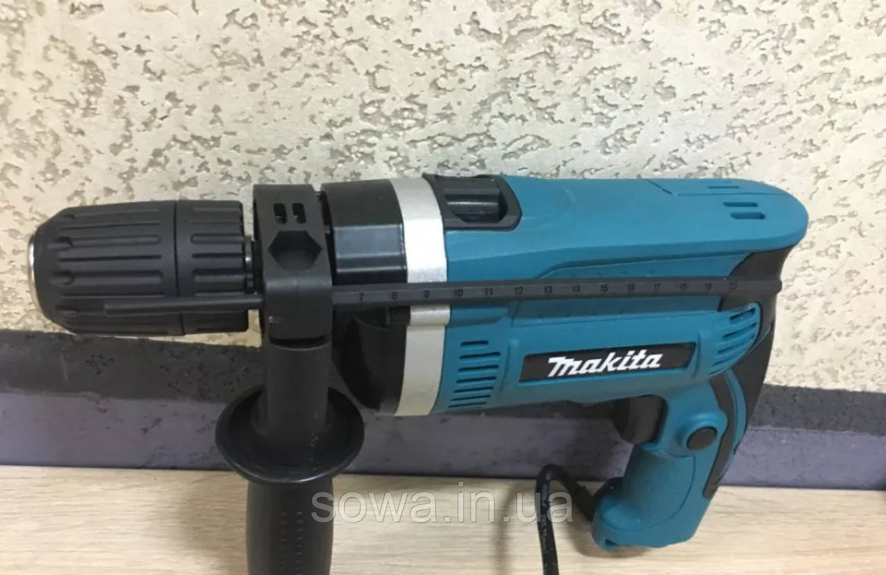 ✔️ Ударний дриль Makita HP1631K ( 1200Вт )