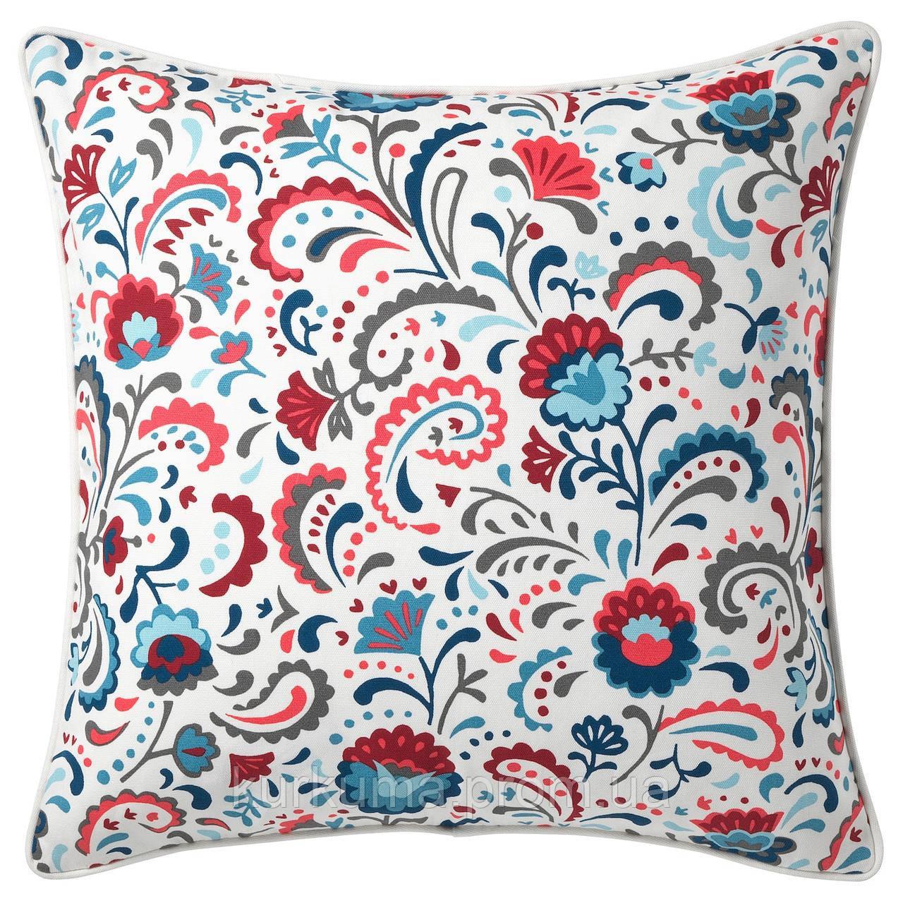 Наволочка на декоративную подушку IKEA KRATTEN 50x50 см (004.474.25)