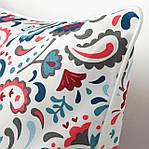 Наволочка на декоративную подушку IKEA KRATTEN 50x50 см (004.474.25), фото 2