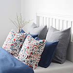 Наволочка на декоративную подушку IKEA KRATTEN 50x50 см (004.474.25), фото 3