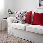 Наволочка на декоративную подушку IKEA KRATTEN 50x50 см (004.474.25), фото 4