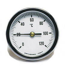 Термометр Arthermo AR-T/B 80 (Ø80 мм, гильза 50 мм, 0-120°С)