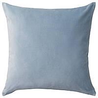 Наволочка на декоративную подушку IKEA SANELA 50x50 см (304.717.39), фото 1