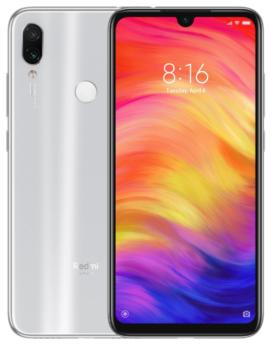 "Xiaomi Redmi Note 7 Astro White 4/128 Gb, 6.3"", Snapdragon 660, 3G, 4G (Global)"