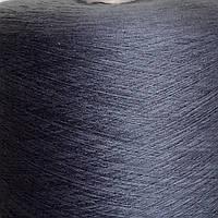 50% хлопок, 50% акрил GREY - пряжа в бобинах для машинного и ручного вязания