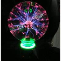 Светильник плазменный шар 15 см, фото 1