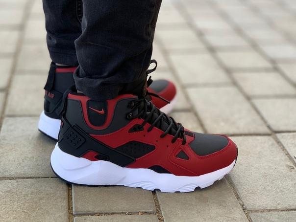 Мужские кроссовки в стиле Nike Air Huarache Winter (42 размер)