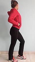 Костюм женский трикотажный спортивный розовый