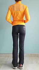 Костюм спортивный женский Metca со стразами, фото 3