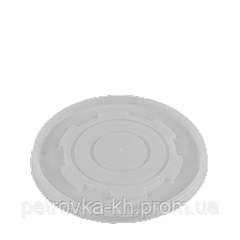 Кришка ПС для супников ВПС 350;450;570;690 мл Діаметр 12 см, висота 1,5 см (50шт/рукав)