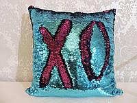 Подушка с пайетками  Код 10-4621
