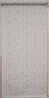 Готовые рулонные шторы Ткань Эдельвейс 675*1500