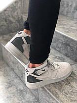 Мужские кроссовки в стиле Nike Air Force 1 Mid / высокие, фото 2