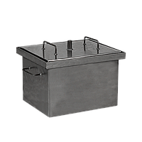 Коптильня горячего копчения Дид Коптенко малая (380x320x300), фото 1