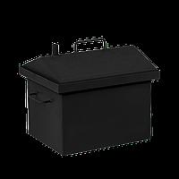 Коптильня горячего копчения Дид Коптенко малая с крышкой домиком и покраской (380x320x360), фото 1