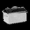 Коптильня горячего копчения Дид Коптенко средняя с крышкой домиком нержавейка (590x360x390)