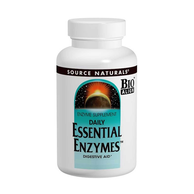 Source Naturals Daily Essential Enzymes пищеварительные ферменты 500 мг 240 капс