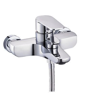 Смеситель для ванной Troya BGX3 (BGX3-A189) однорычажный, с коротким изливом цвет хром,смеситель Троя