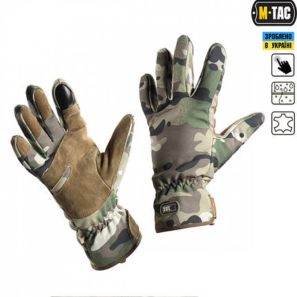M-TAC ПЕРЧАТКИ TACTICAL WATERPROOF MC, фото 2