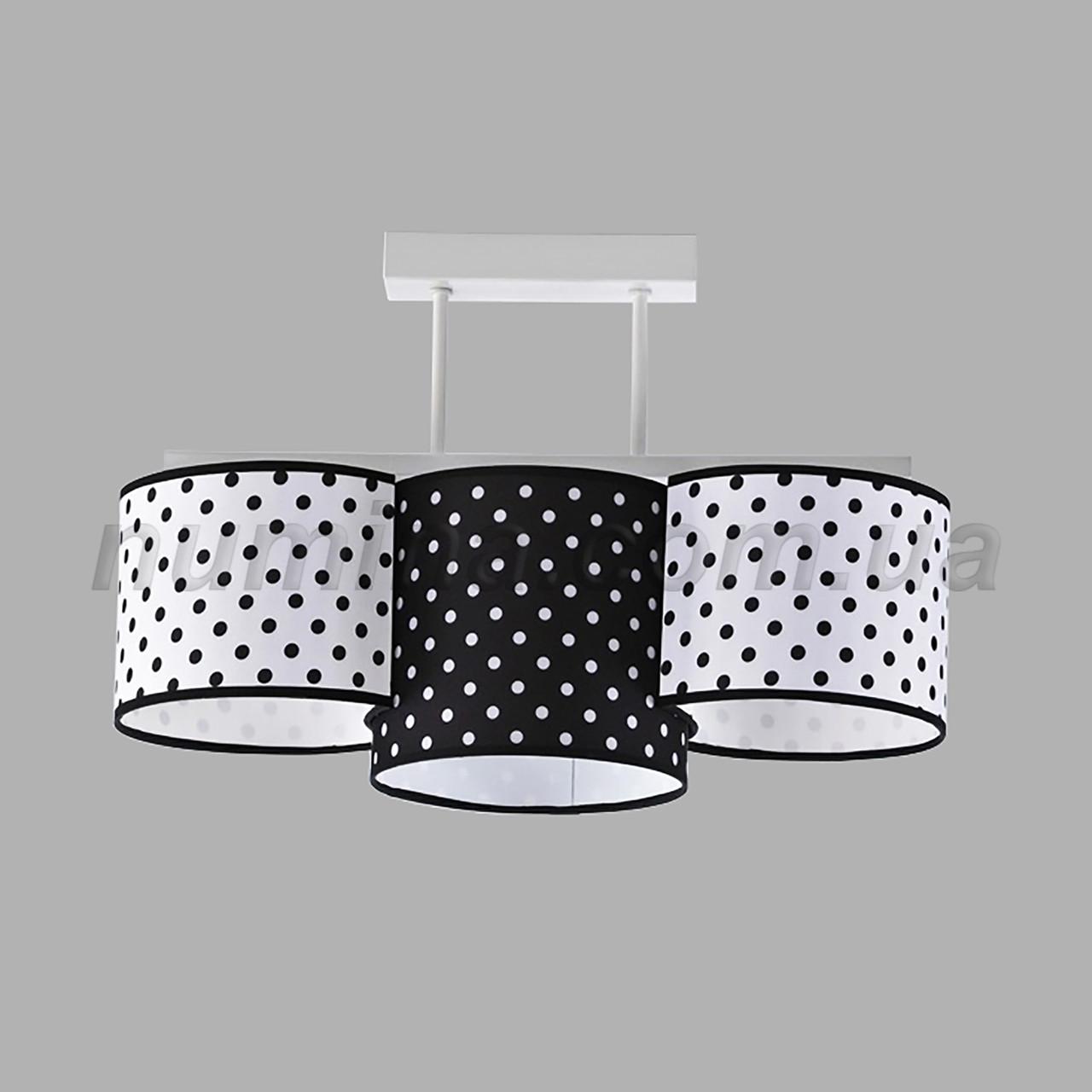 Люстра потолочная на 3 лампы 29-H174/3L WT+MIX