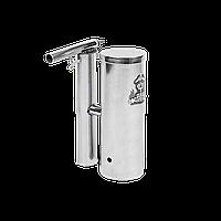 Дымогенератор для копчения Дид Коптенко 1,5л с охладителем и конденсатосборником нержавейка, фото 1