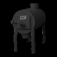 Печь калорифер Брест 200 (Булерьян Тип 01) с вертикальным выходом теплого воздуха, фото 1