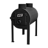 Печь калорифер Брест 203 (Булерьян Тип 01) с вертикальными тепловыми выходами