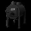 Печь калорифер Брест 350 (Булерьян Тип 02) с вертикальными тепловыми выходами