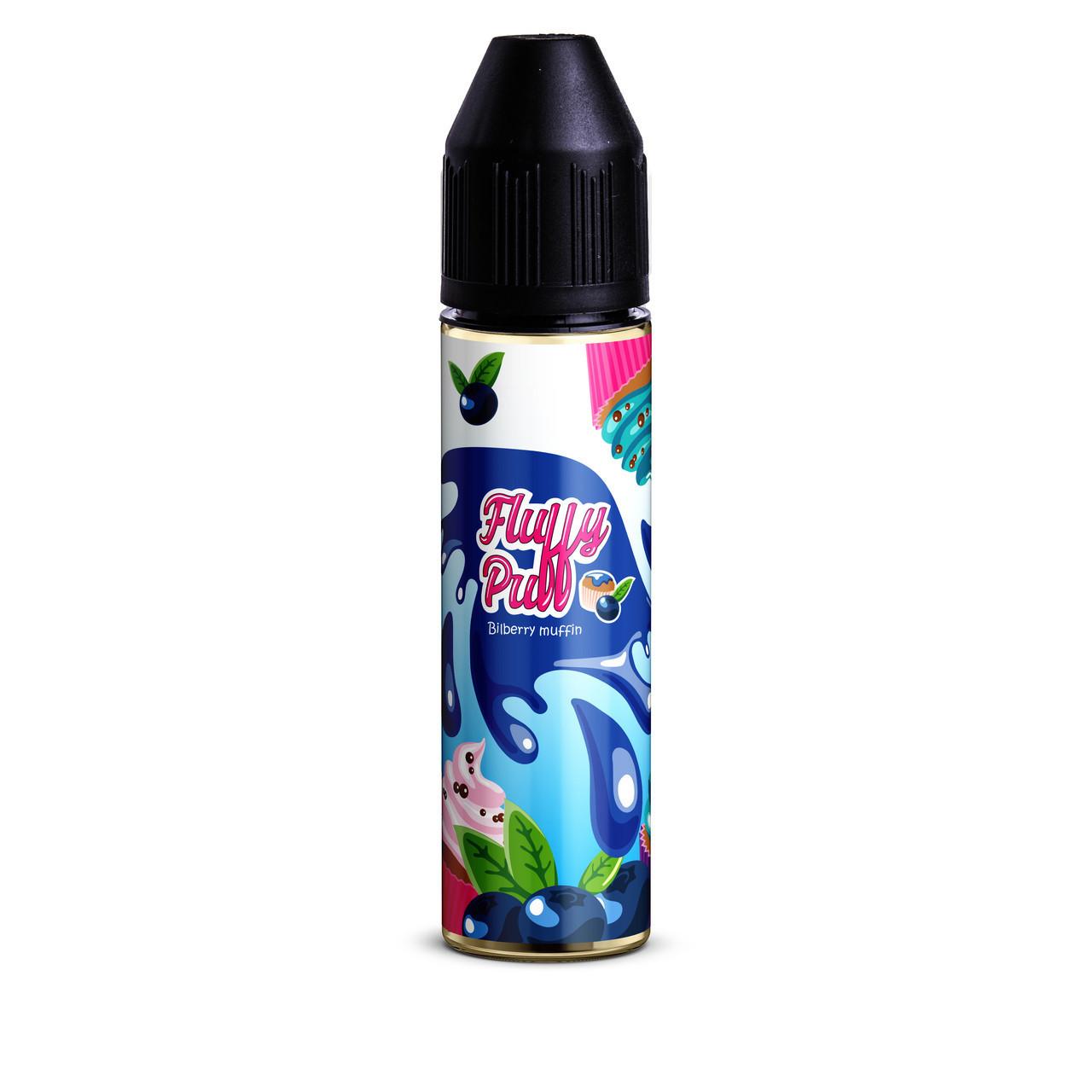 Жидкость для электронных сигарет Fluffy Puff Bilberry Muffin 1.5 мг 60 мл