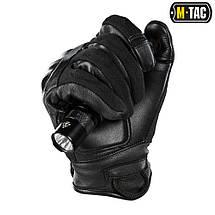 M-TAC ПЕРЧАТКИ NOMEX ASSAULT TACTICAL MK.7 BLACK, фото 3