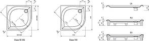 Душовий піддон Ravak Elipso-80 EX (A224401310), фото 2