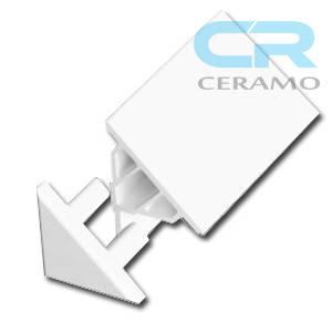 Заглушка декоративної планки Ravak 10 мм, біла (B440000001), фото 2