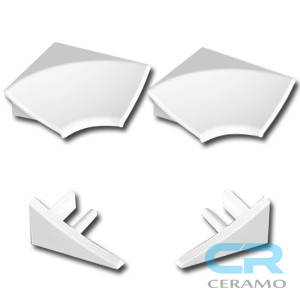 Набір для декоративної планки Ravak 11 мм, білий (B460000001), фото 2