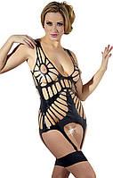 Огненная Леди - Латексный костюм - Latex-Strapshemd, цвет: черный