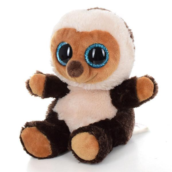Мягкая игрушка SF0956 (24шт) ёжик, 15см