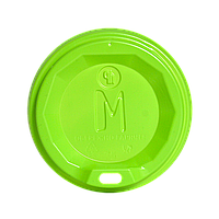 "Крышка ""M"" КВ79 САЛАТОВАЯ 50шт.уп.(50/2500) (340 стакан)"