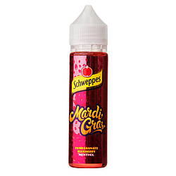 Жидкость для электронных сигарет 3Ger THRONE Schweppes Mardi Gras 0 мг 60 мл