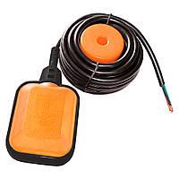 Wetron поплавок для насоса універсальний 10А/до 1,1 Квт кабель 5м