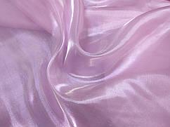 Органза кристалик, бледно-розовый